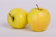 Detaily fotografie yellow apple