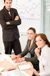 Details der Fotografie Business meeting - group of people in office