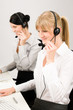 Detalii fotografie Customer service woman call center phone headset
