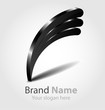 Vector brand black logo