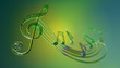 Details der Fotografie Music, Song, Sound, Treble clef, Outline, Song