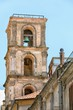 Details der Fotografie beautiful picturesque bell tower in vibo valentia in calabria italy