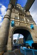 Dettagli della fotografia Tower Bridge. City, bridge, people and traffic. London - England.