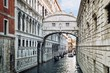 Detalii fotografie view of the famous bridge of sighs in venice