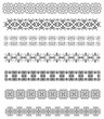 Detalii fotografie collection of ornamental rule lines in different design styles vector illustration