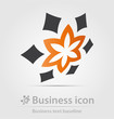 Detalii fotografie originally created business icon for creative design work