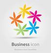 Details der Fotografie originally created business icon for creative design tasks