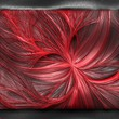 Details der Fotografie luxury background with embossed fractal pattern on leather