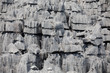 Detalii fotografie curiously strange rock formations of fantastically eroded limestone spires known as tsingy in amazing national park ankarana madagascar wilderness