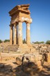 Detalii fotografie agrigento sicily temple of castor and pollux one of the greeks temple of italy magna graecia the ruins are the symbol of agrigento city