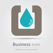 Detalii fotografie originally created business icon for creative design tasks