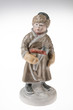 Image details old porcelain statuette on an isolated background