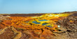 Details der Fotografie beautiful small sulfur lakes dallol ethiopia danakil depression is the hottest place on earth in terms of yearround average temperatures it is also one of the lowest places on the planet