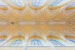 Detalii fotografie decorative ceiling in the cathedral of the assumption of our lady famous cathedral of the assumption of our lady located in kutna hora  sedlec czech republic europe