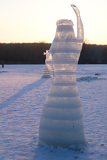 Photo Statue Ice Queen