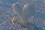 Fotografie Ice Sculpture Heart