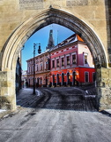 Photo View in the Gate of Saaz in Louny