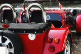 red kabriolet auto