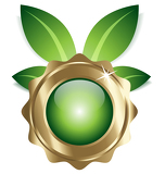 ecofriendly icon / symbol / štítek / element