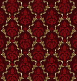 Luxurious vector brocade pattern/tile