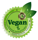 Premium Quality vegan vector label