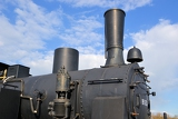 Photo steam locomotive