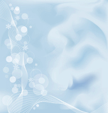 Photo Abstract christmas template with embelishment