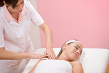 Body care - Woman luxury massage