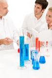 Fotografie Team of scientists in laboratory - medical research