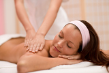Photo Body care - woman back massage