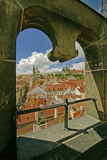 Photo view to Prague castle
