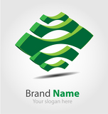 Eco brand logo/icon/element