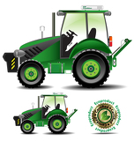Fotografia Tractor (Agric version) set