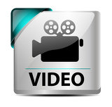 Fotografia Video download button/icon
