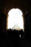 Photo Glass Pyramid of the Louvre, Paris.