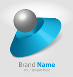 Fotografie abstract logo design (3d)