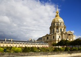 Photo Invalides and gardens, Paris.