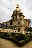 Invalides and gardens, Paris.