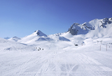 Photo ski slope in 3 Vallees