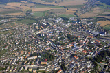 aerial view of Šumperk
