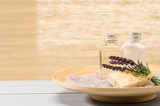 Photo Natural spa products lavender