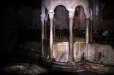 Crypt. Shrine, the Basilica of Agios Dimitrios Thessaloniki - Greece.