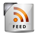 Fotografia RSS Feed button/icon