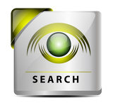 Fotografie Search button/icon