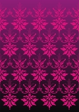 purpureal damask on the dark background