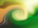 Fotografia Green mill abstract painting