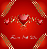 Fotografie Valentines day background