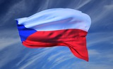 Flag, Czech Republic, flutter,Wave, Republic, State