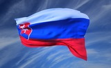 Photo Flag of Slovakia, flutter, Wave, Republic, State