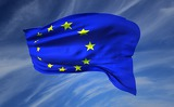 Fotografie Flag, European Union, flutter, Wave, Europe, the Union